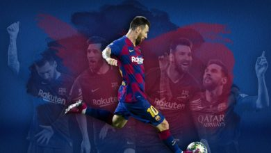 Photo of Barcelona go top thanks to free-kick king Messi
