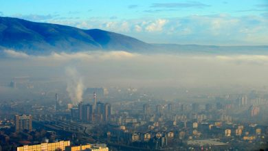"Photo of EC: No ""dramatic improvement"" regarding air pollution in N.Macedonia, region"
