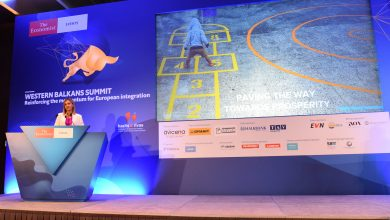 Photo of FinMin Angelovska addresses The Economist summit in Skopje