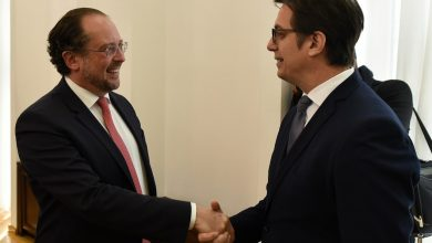 Photo of Pendarovski-Schallenberg: Austria supports North Macedonia's EU membership aspirations