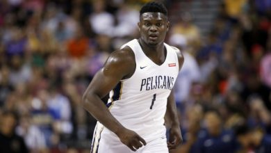 Photo of NBA top pick Zion Williamson out 6-8 weeks with a torn meniscus