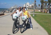 Photo of Cycling through Tel Aviv