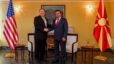 Photo of Zaev-Pompeo: U.S. strongly supports NATO membership, opening of EU talks