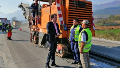 Photo of Transport minister Sugareski says over 500km of roads to be rehabilitated in 2019
