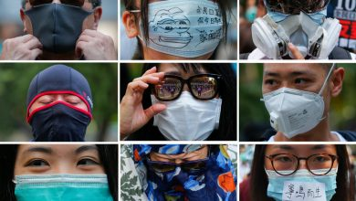 Photo of Clashes erupt in Hong Kong after ban on face masks