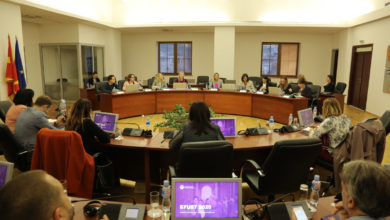 Photo of FinMin Angelovska presents 2020 draft budget