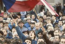 Photo of Protests and celebrations mark anniversary of Velvet Revolution