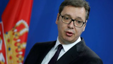Photo of Serbia's Vucic admitted to hospital with heart problems