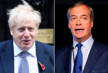 Photo of British PM boosted by Farage's vow not to contest Conservative seats