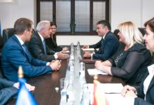 Photo of Minister Dimitrov meets with EU Commissioner Avramopoulos