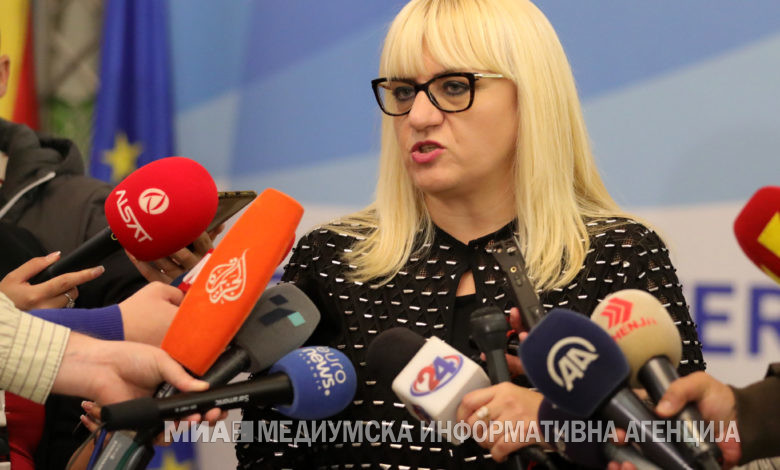 Photo of Minister Deskoska says vetting  of judges and prosecutors a must