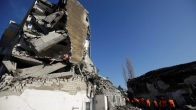 Photo of Albania quake death toll at least 39, hope wanes for the missing