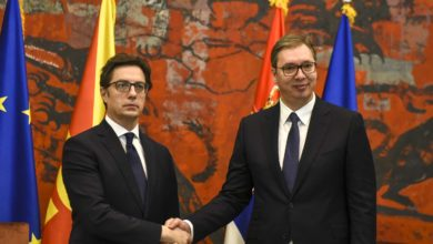 Photo of Pendarovski: Our countries share common history and have common goal