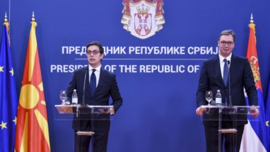 Photo of Pendarovski: No alternative to EU; Vučić says a lot of things remain unclear