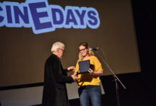 Photo of Steve Abbott receives lifetime achievement award at 18th CineDays Festival