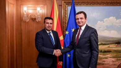 Photo of PM Zaev meets Kosovo's Kurti