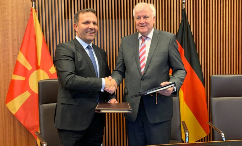 Photo of North Macedonia, Germany sign agreement on fighting crime