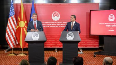 Photo of USAID's Mark Green: We're committed to North Macedonia and its steady development