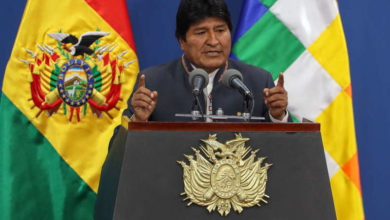 Photo of Bolivia's Morales resigns, head of electoral tribunal arrested