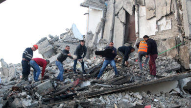 Photo of At least 15 killed, hundreds injured in Albania earthquakes