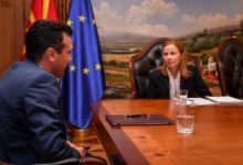 Photo of PM Zaev meets IMF's Bjørnson Barkbu