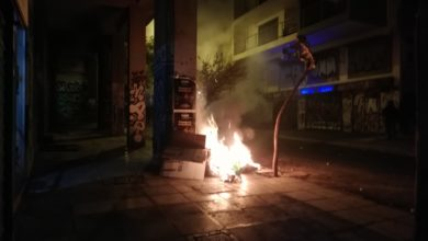 Photo of Riots break out in memory of 15-year-old victim of police in Greece
