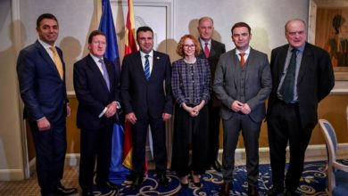 Photo of Ex-NATO head Lord Robertson extends support for North Macedonia's NATO membership