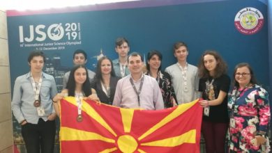 Photo of Macedonian students win silver, bronze at IJSO Doha