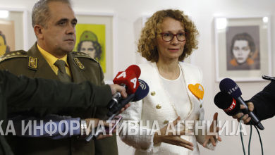 Photo of Defense Minister Shekerinska presents certificates