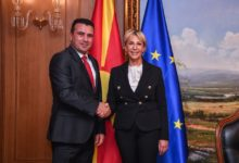 Photo of PM Zaev meets Croatian Ambassador Tiganj