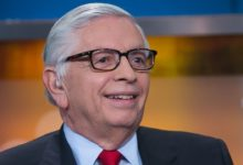 Photo of David Stern, former NBA commissioner, dead at 77