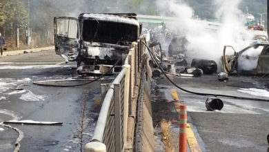 Photo of Seven killed and 32 injured in two major road accidents in S Korea