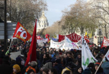 Photo of Streets blocked in France on sixth day of pension protests
