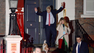 Photo of Snap election delivers strong majority for Johnson's Conservatives