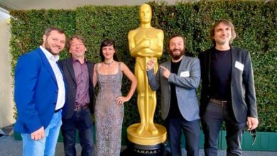 Photo of Honeyland filmmakers attend Oscar luncheon in Los Angeles