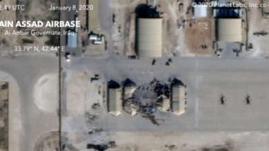 Photo of Rockets hit Iraqi base housing US troops for second time this week