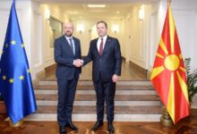 Photo of PM Spasovski meets European Council President Michel