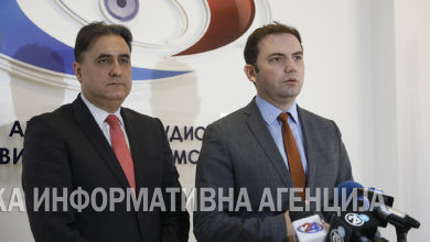 Photo of Osmani-Trajchevski meeting