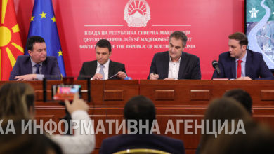 Photo of Signing contract for construction of Skopje-Blace highway