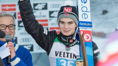 Photo of Victory again for Lindvik as Kubacki takes Four Hills lead