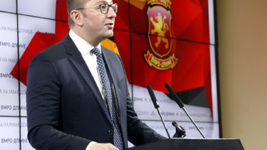 Photo of Mickoski: VMRO-DPMNE refuses to back unconstitutional law on public prosecution