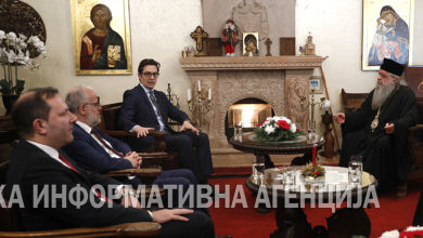 Photo of Top officials attend Christmas lunch with HH Stefan