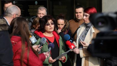 Photo of Independent Trade Union of Academics holds news conference