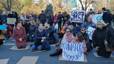 Photo of Protest staged in Skopje, protesters demand adoption of law banning hazardous waste import