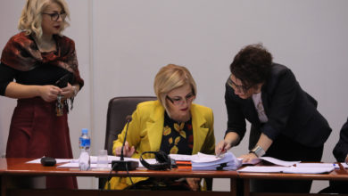 Photo of Parliament Committee on Transport, Communications and Environment holds session