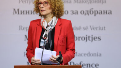 Photo of Pres: Radmilla Shekerinska