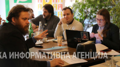 "Photo of ""Societas Civilis"" holds press briefing"