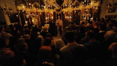 Photo of Over thousand believers attend Christmas Eve service in Bigorski Monastery