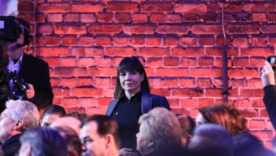 Photo of Carovska attends 75th anniversary of Auschwitz-Birkenau liberation