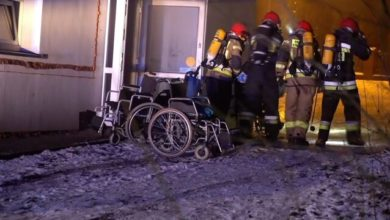Photo of Fire in Polish hospice kills four people